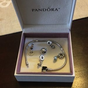 Jewelry - Pandora bracelet and charms